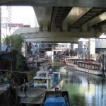 港区 金杉橋あたり 屋形船